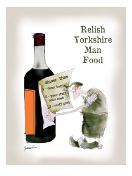 Relish Yorkshire Man Food